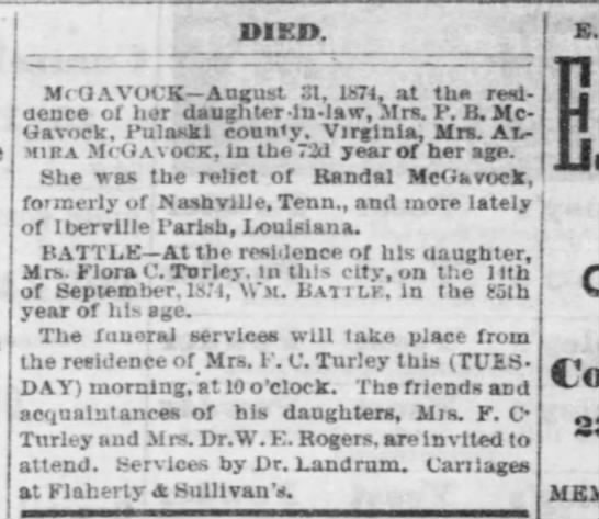 Sept 15, 1874 memphis Daily Appeal -