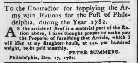 Peter. N. Liberties, Victualler. Born 1747 Hoch-Weisel Died 1783 Philadelphia, PA -