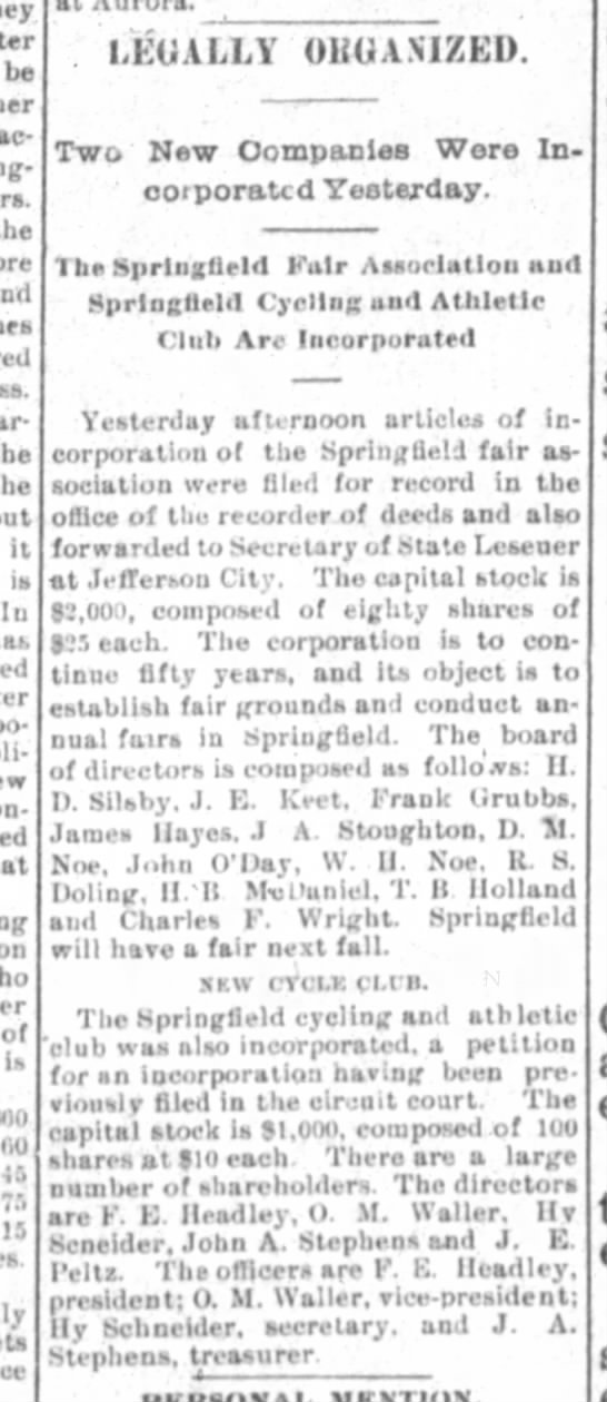 James Hayes in Springfield Democrat 11 April 1894 pg 3 -