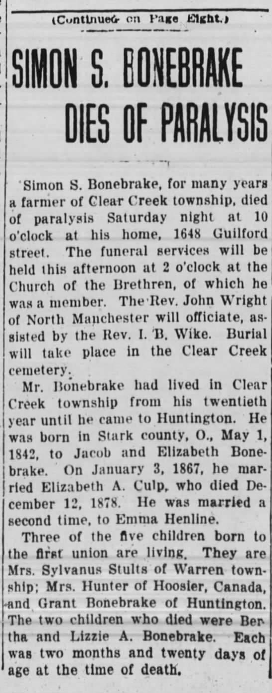 The Huntington Herald, Sept.25, 1916 page 1 -