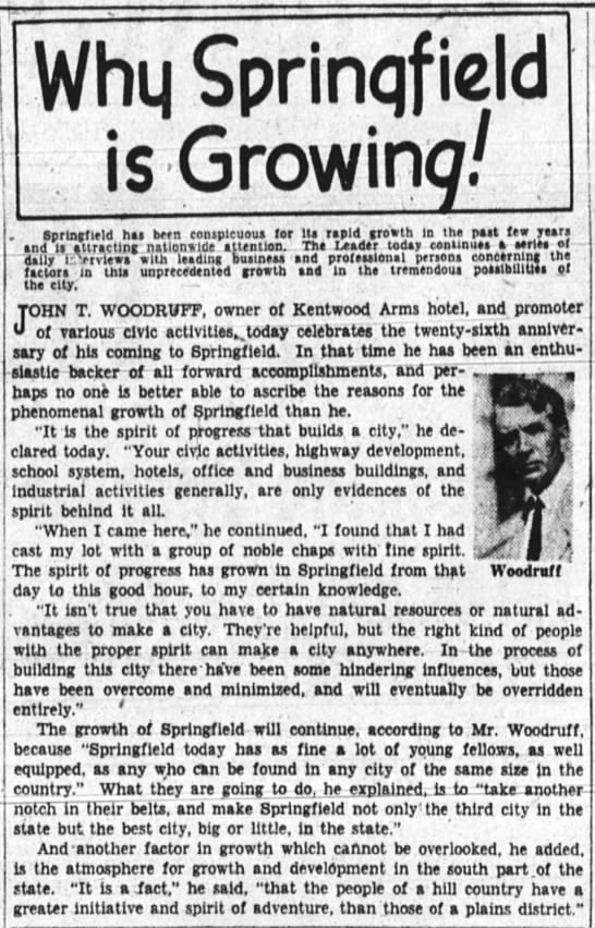 Why Spfld is Growing!
