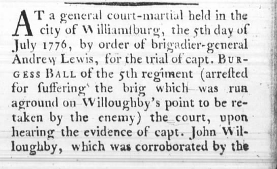 Purdie's VA Gazette Williamsburg, VA 12 July 1776 -