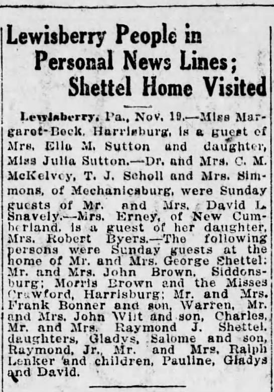 1920 MM John Wilt and son visit -