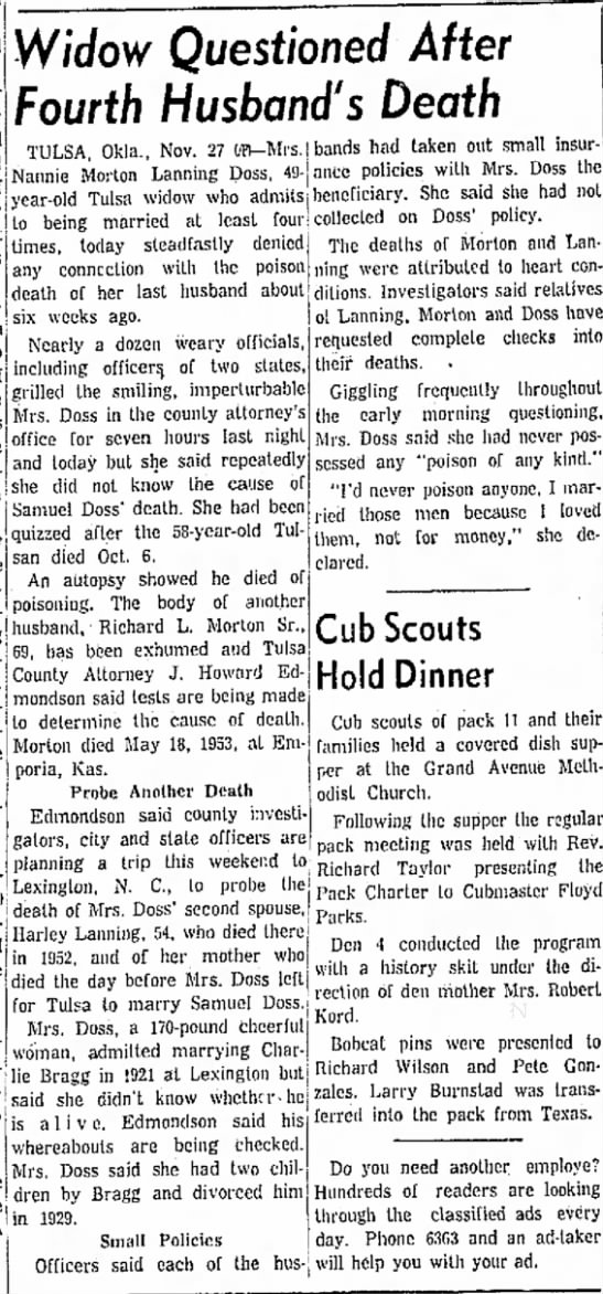November 28th 1954 The Salina Journal (Salina, KS) -