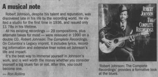 Johnson's recordings -