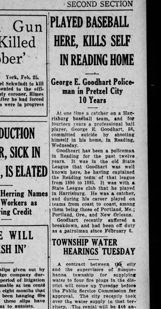 1927 February 25Friday George Goodhart -