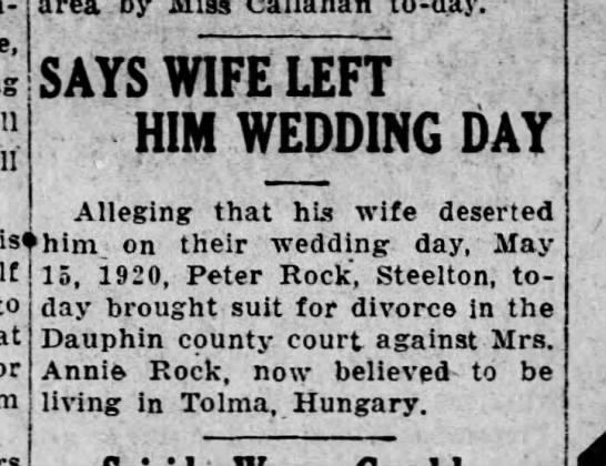 1927 May 12 Harrisburg Telegram -