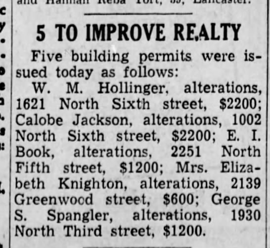 Alterations 1002 N 6th1938 -