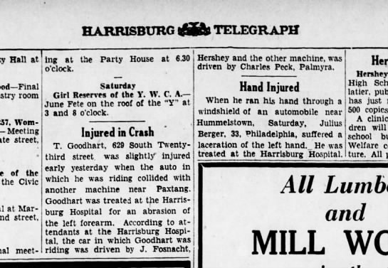 1931 June 1 Hbg Telegraph -