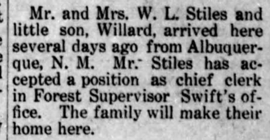 Stiles Family arrives in Arizona -