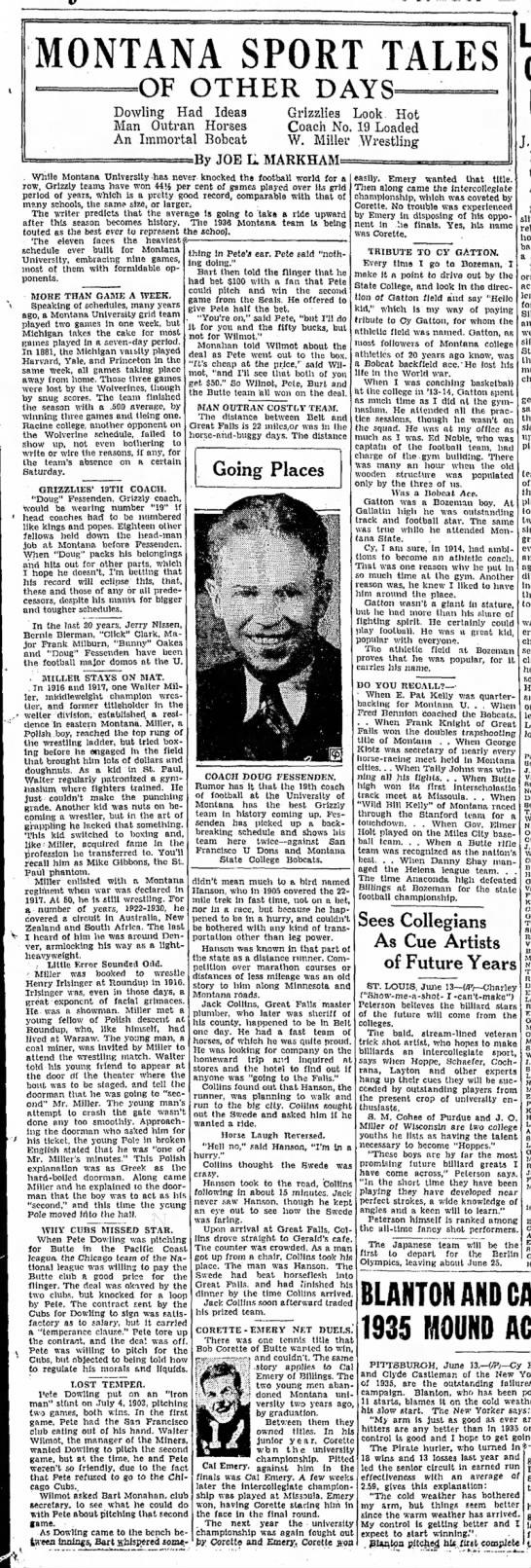Montana Butte Standard •  14-June-1936 •  Page 25 -