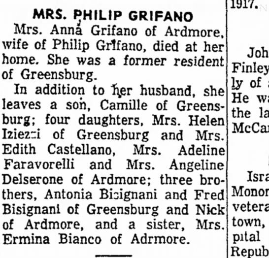 Angeline Delserone's Mother