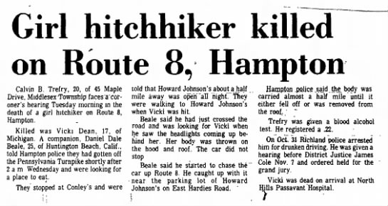 Vicki Reynolds death, North Hills News Record, North Hills