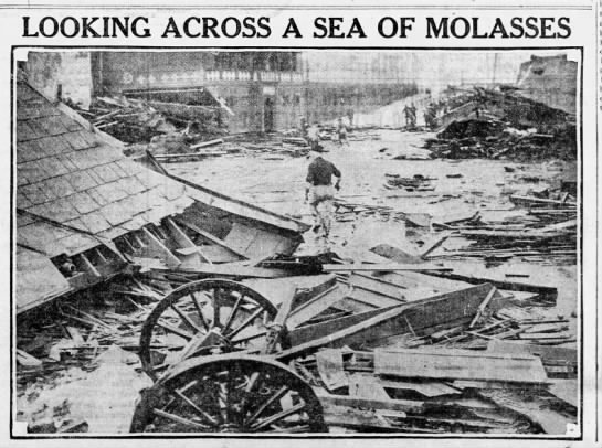 Aftermath of Great Molasses Flood -