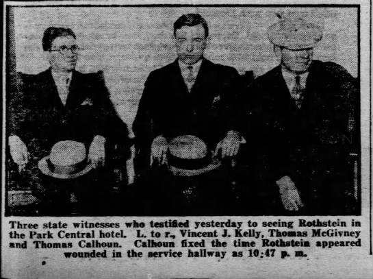 Thomas McGivney  Daily News Dec 3, 1929 -