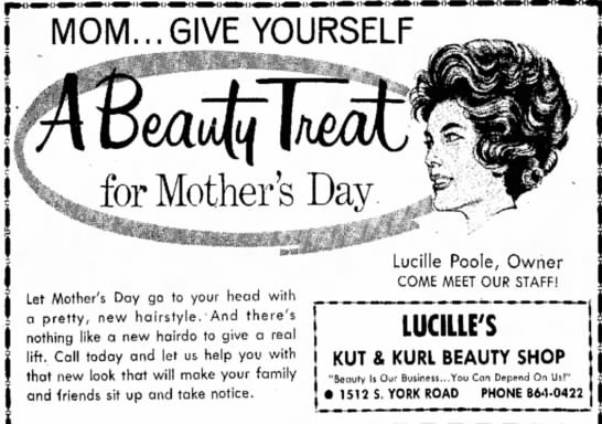 Maybe Lucille Gaddis Poole? -