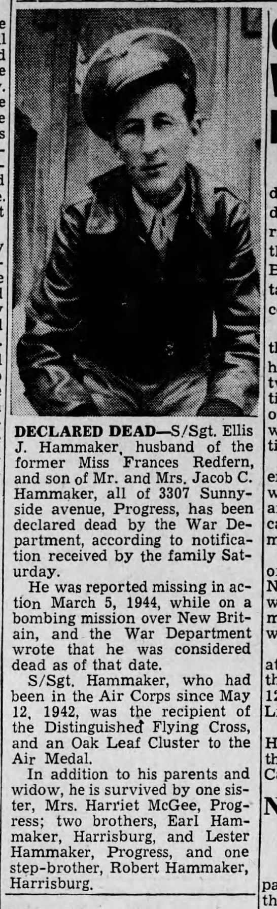 1946 ellis hammaker dec dead by dod -