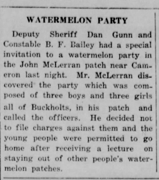 Watermelon Party -