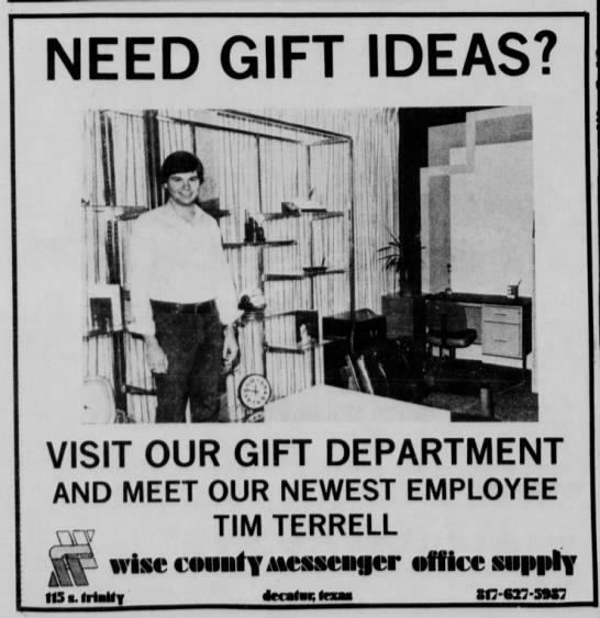 Tim....Nov. 29, 1979 WCM -