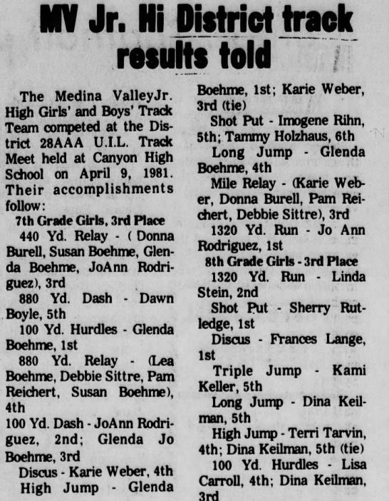 23 april 1981 -