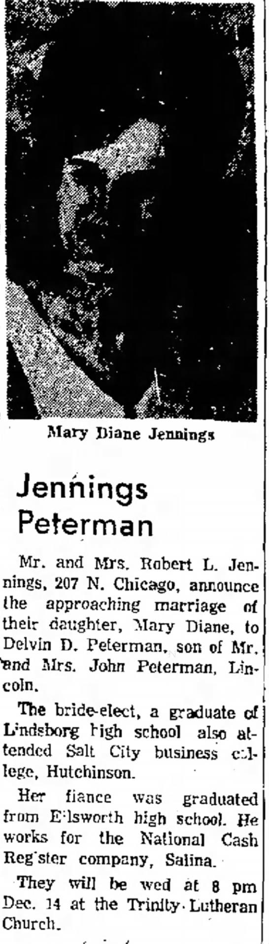 Delvin Peterman's Engagement -