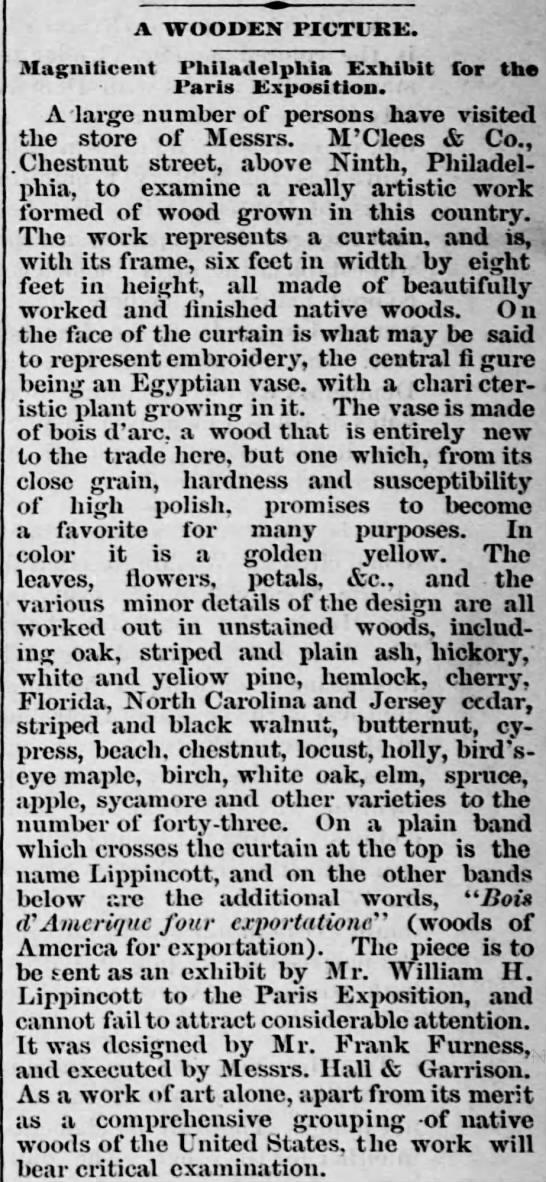 Harrisburg Telegraph March 7, 1878 -