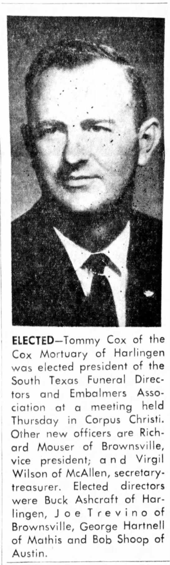 Tommy Cox -