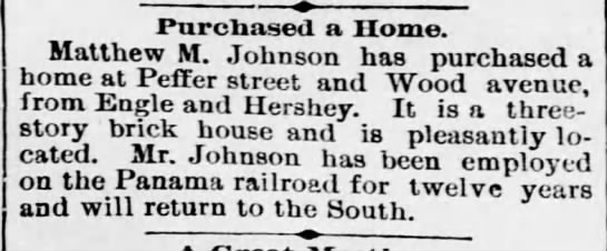 Johnson.Matthew house purchase/attached to tree -