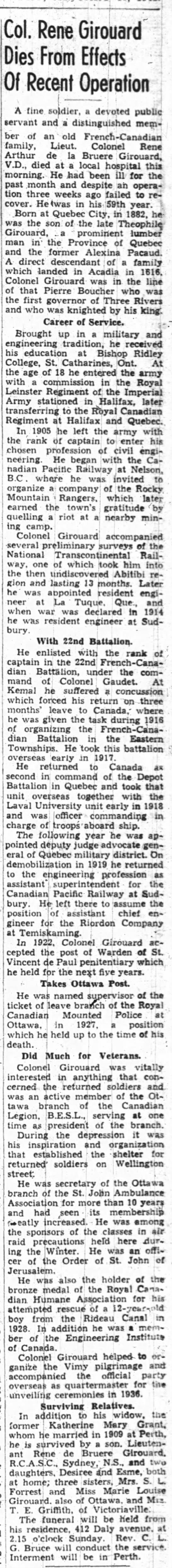 Ottawa Journal, 10 Jan 41 -