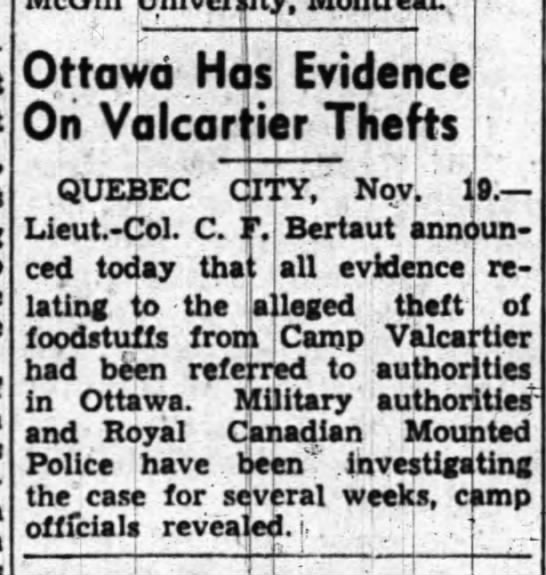 Ottawa Journal, 20 Nov 41 -