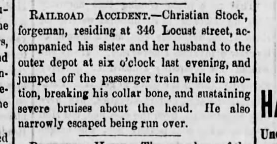 Reading Times 6 July 1871 p. 1 -