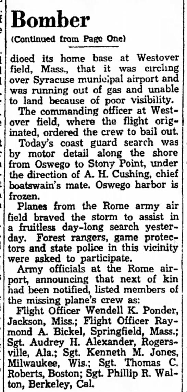 Fitchburg Sentinel Feb. 19, 1944 -