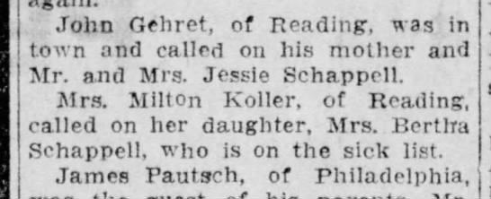 Reading Times 19 February 1916 p.12 -