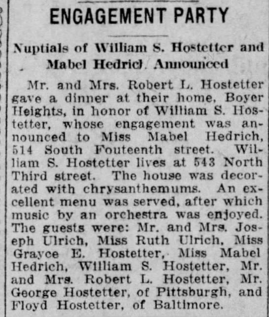 William S. Hostetter -