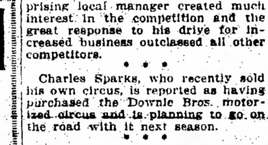 Sparks Downie Purchase