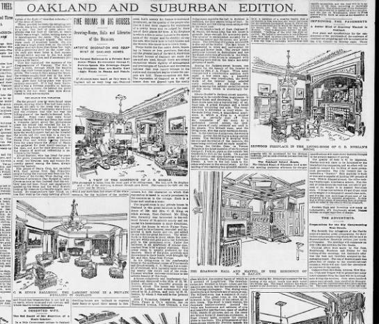 ine Rooms in Big Houses - SF Examiner  April 17, 1892 -
