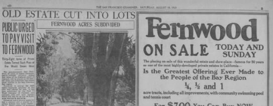 Fernwood Aug 18,1923 -
