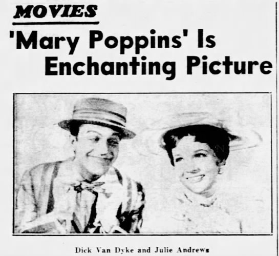 Mary Poppins is Enchanting -
