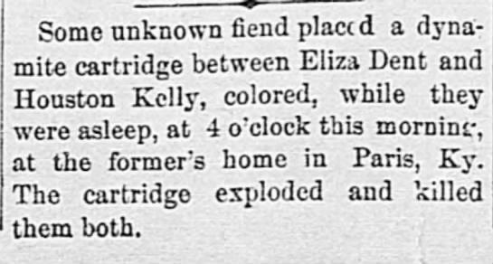 Alexandria Gazette (Alexandria, Virginia), 3 Oct 1893, page 2, col 4 -