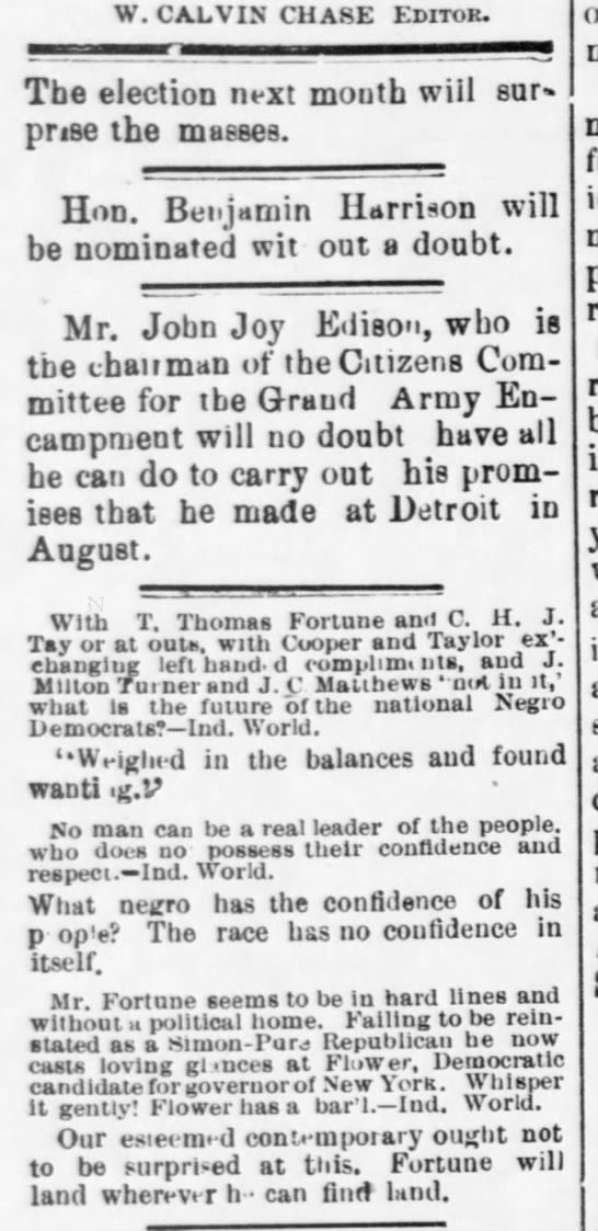 1891-10-10-WashingtonBee-p2-[Editorial] -