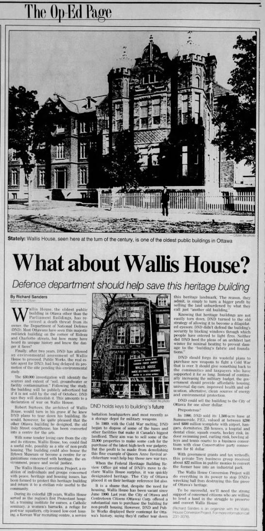 Op ed RS COAT's Wallis House Conversion Project -