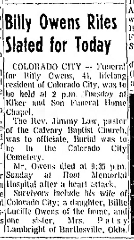 Billy Owens, RIP -
