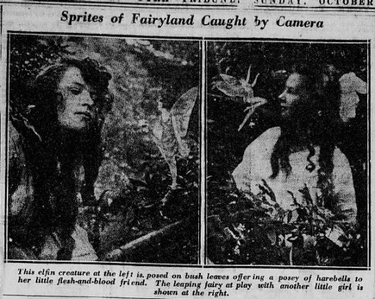 Frances, Elsie, and their fairy friends -