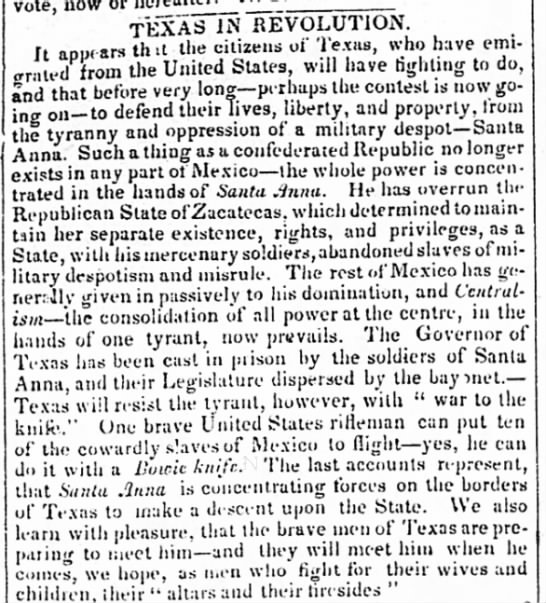 Texas in Revolution -