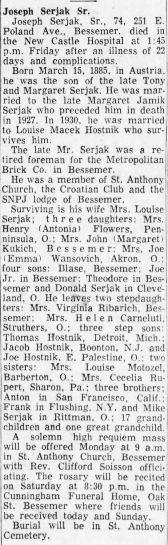 Joseph Serjak