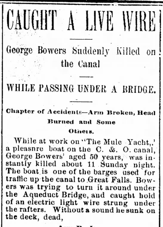 George Bowers obit