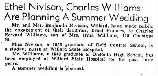 Chuck & Ethel Williams Engagement  -