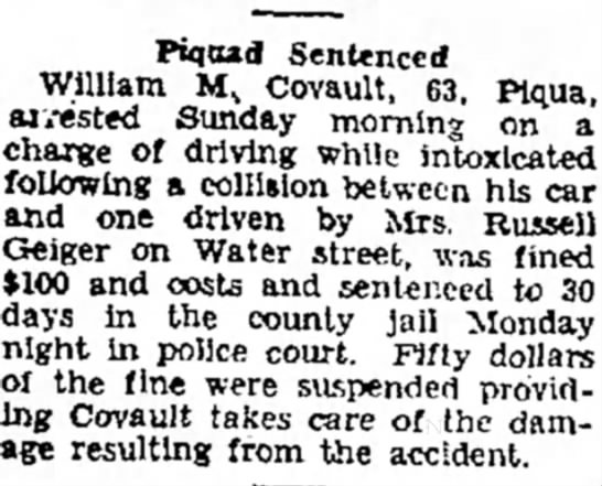 Clipping from The Piqua Daily Call - Newspapers com