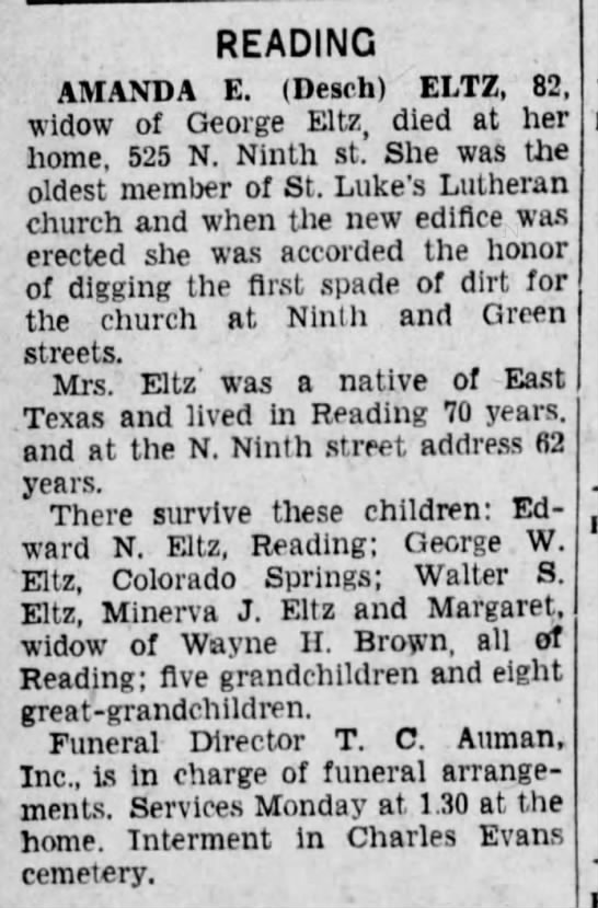 Reading Times (Reading, PA) 16 Nov 1933, page 20 -