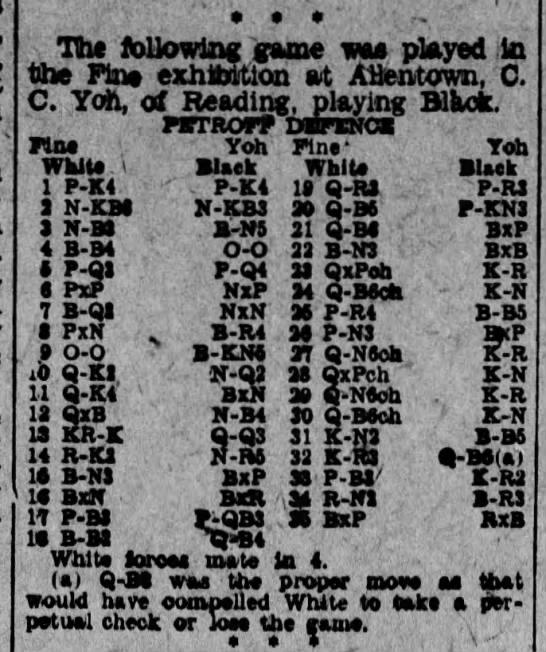 Fine-Yoh Allentown Simul 1933 -